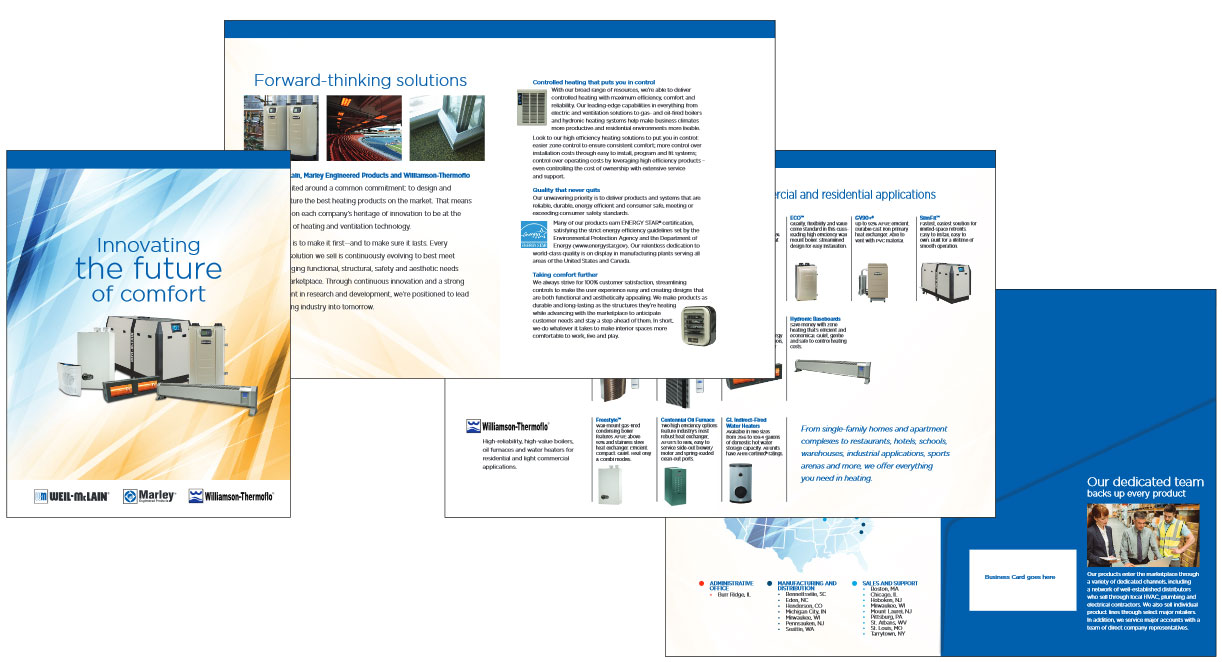Weil-McLain corporate brochure