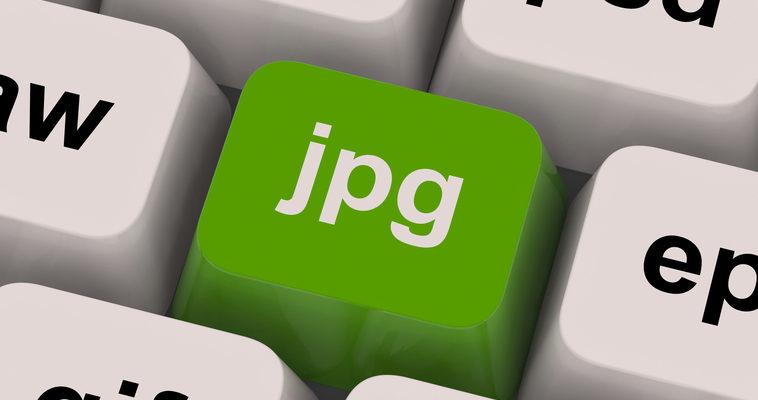 Jpg Key Showing Image File Types