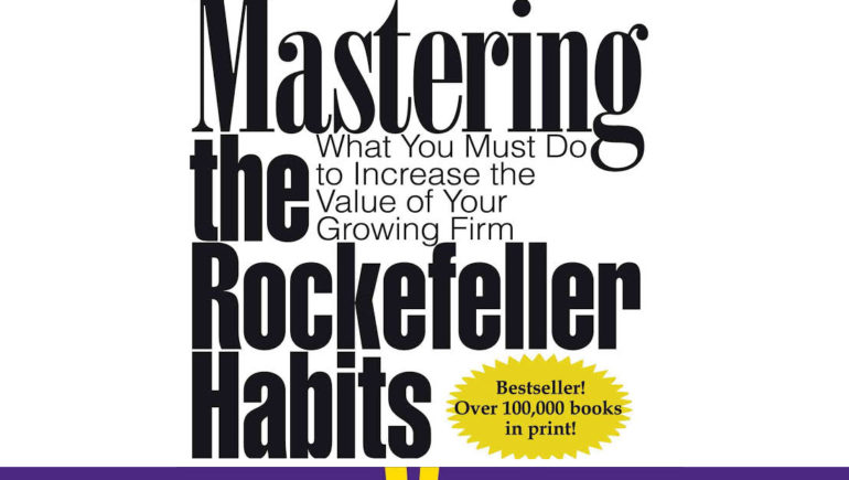 Mastering the Rockefeller Habits hero image